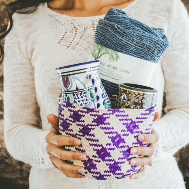 """The Cozy Box"" Artisan Box from Globe In -Meaningful Gifts for Mom Hand Picked by Satori Design for Living"