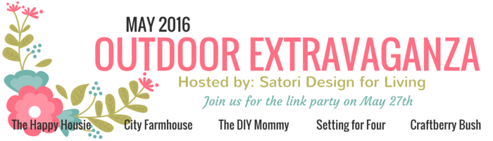 Outdoor Extravaganza 2016 - 3 Weeks of DIY Outdoor Ideas