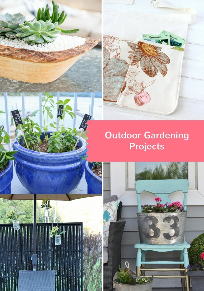 DIY Outdoor Gardening Ideas