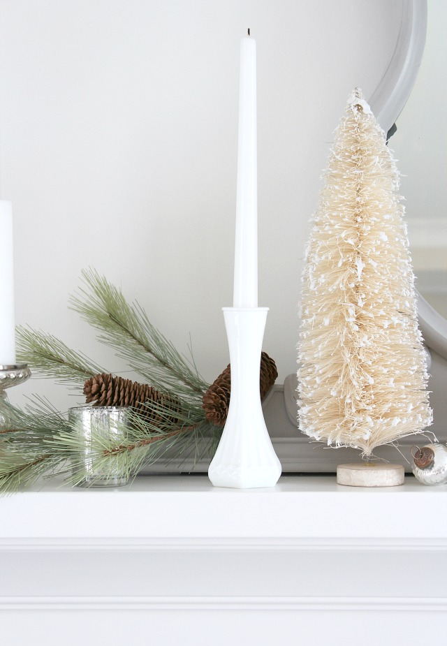 Using Milkglass in Holiday Decor