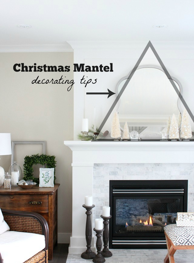 Christmas Mantel Decorating Ideas - How to select Christmas decorations for your fireplace.