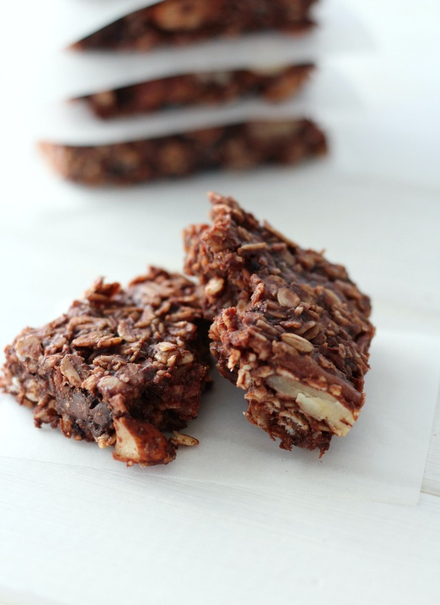 Chocolate Oat Breakfast Bars - Gluten-free, Dairy-free Recipe Using Wholesome Ingredients