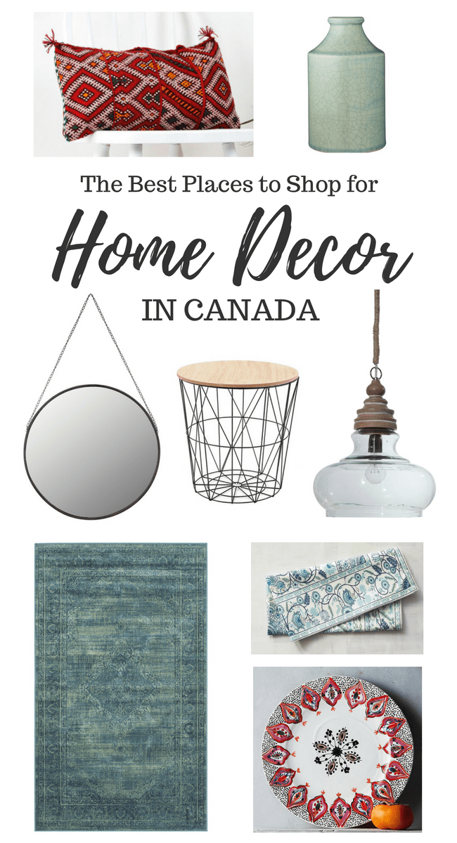 The Best Places to Shop for Home Decor in Canada both In-store and Online