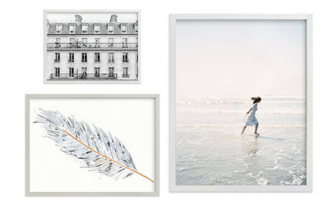 Hanging Art Above the Sofa - How to Select Pieces for a Gallery Wall in the Living Room