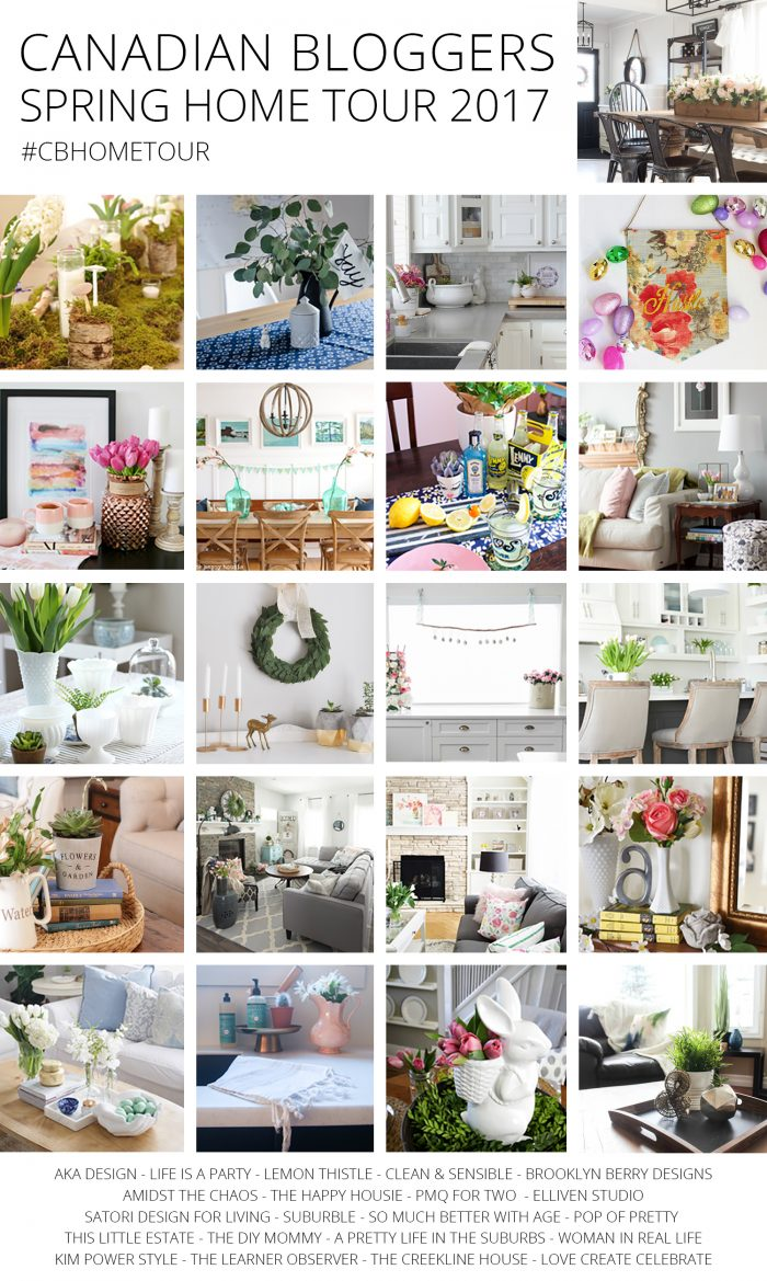 Tour these beautiful Canadian homes decorated for spring!