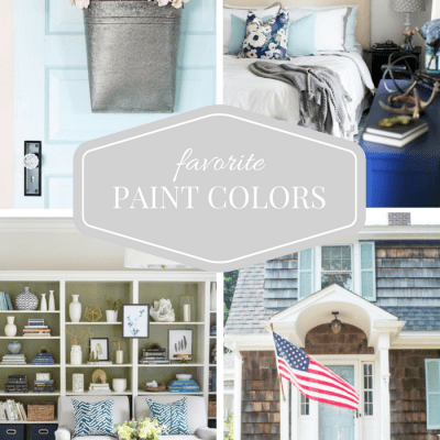 Favorite Paint Colors from Top Home Bloggers - Series Hosted by SatoriDesignforLiving.com