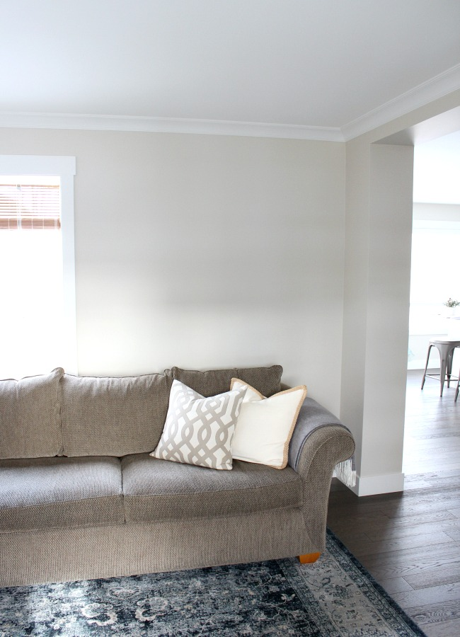 Living Room BEFORE - Creating a Gallery Wall in the Living Room - Satori Design for Living