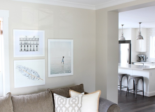How to Hang Art Above the Sofa - Tips and Tricks for Hanging Art in the Living Room