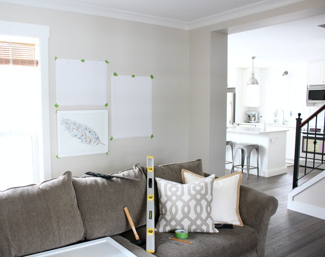 The Best Tips for Hanging Art Above the Sofa - Creating a Living Room Gallery Wall Way