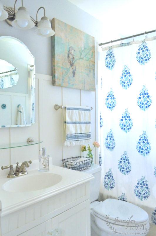 Martha Stewart Dolphin Gray Bathroom - Jennifer Rizzo - Favorite Paint Color