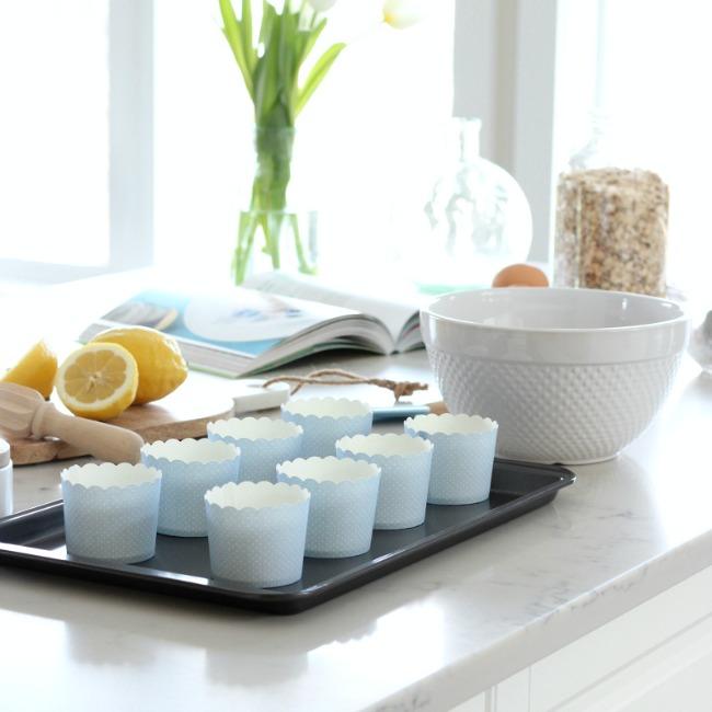 Spring Baking - Blueberry Oat Breakfast Muffins Gluten-Free
