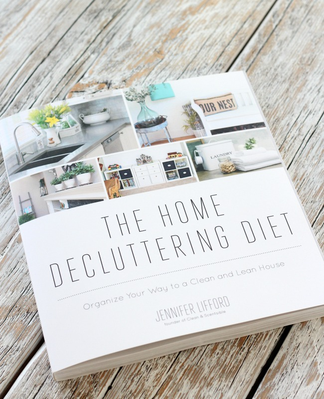 The Home Decluttering Diet by Jennifer Lifford - Organize Your Way to a Clean and Lean House
