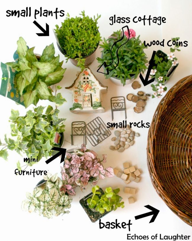 How to Make a Fairy Garden by Echoes of Laughter