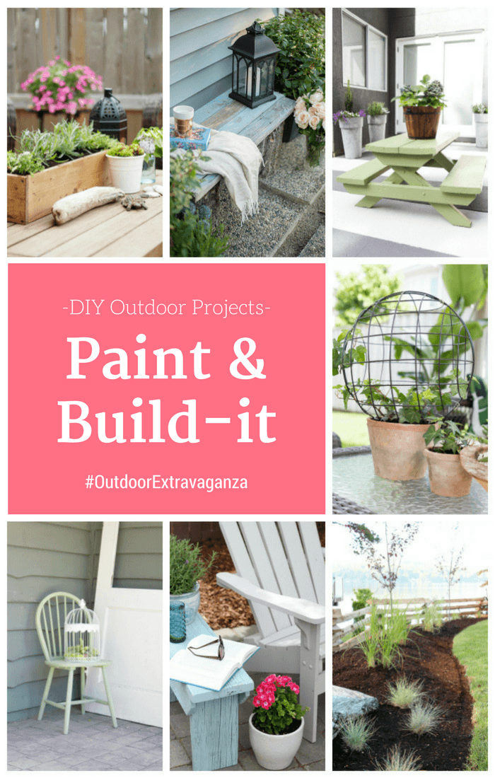 Outdoor DIY Project Ideas Using Paint and Wood