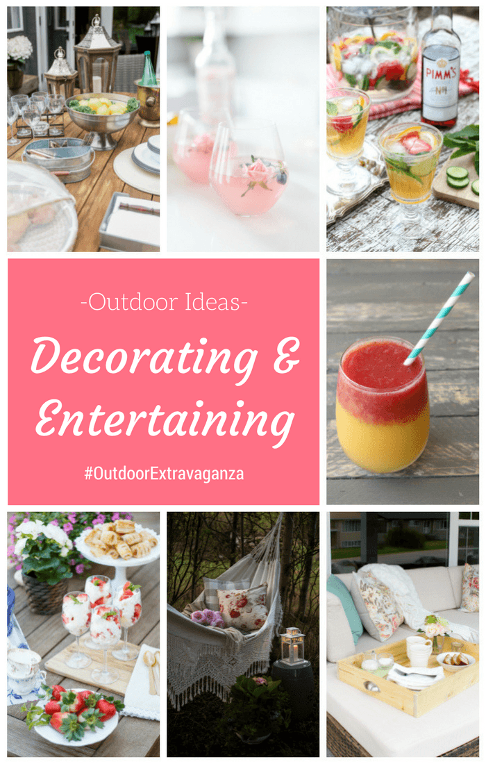A Collection of Beautiful Outdoor Decorating and Entertaining Ideas from the Outdoor Extravaganza