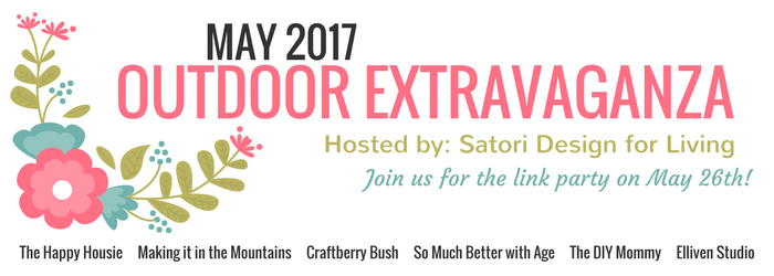 Looking for some motivation to beautify your backyard? Join the Outdoor Extravaganza blogging series hosted by Satori Design for Living and guests!