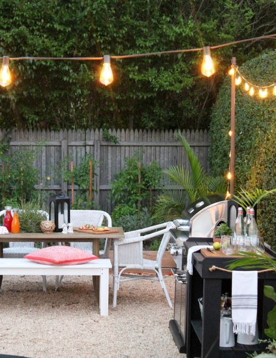 Outdoor Lighting and Decorating Tips by City Farmhouse