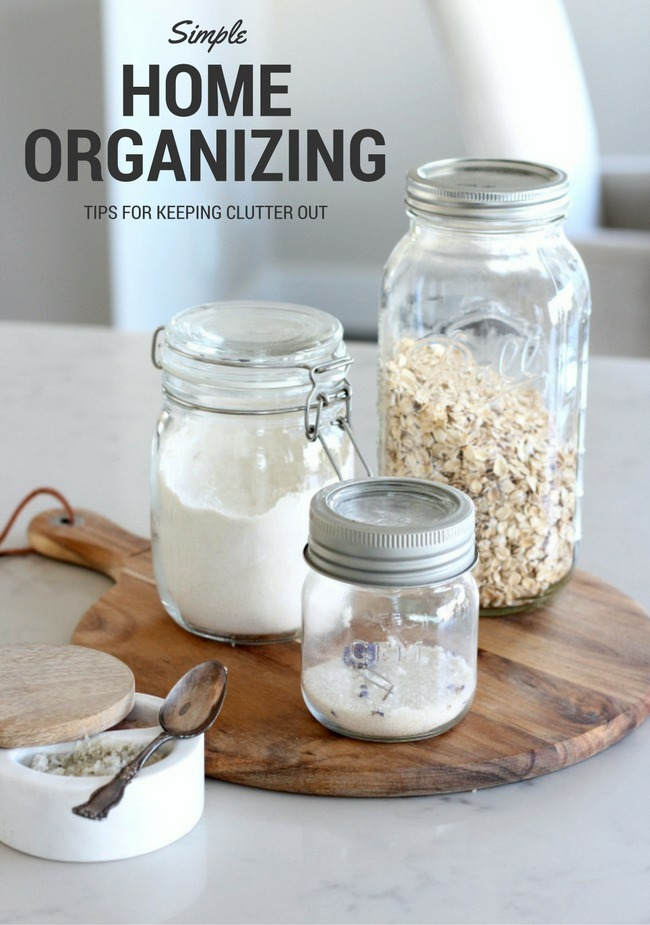 Is your home disorganized and cluttered? The whole family can follow these simple home organizing guidelines to keep your home looking neat and orderly.