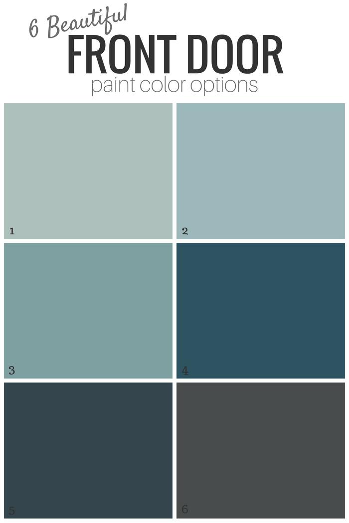 6 Beautiful Front Door Paint Color Options