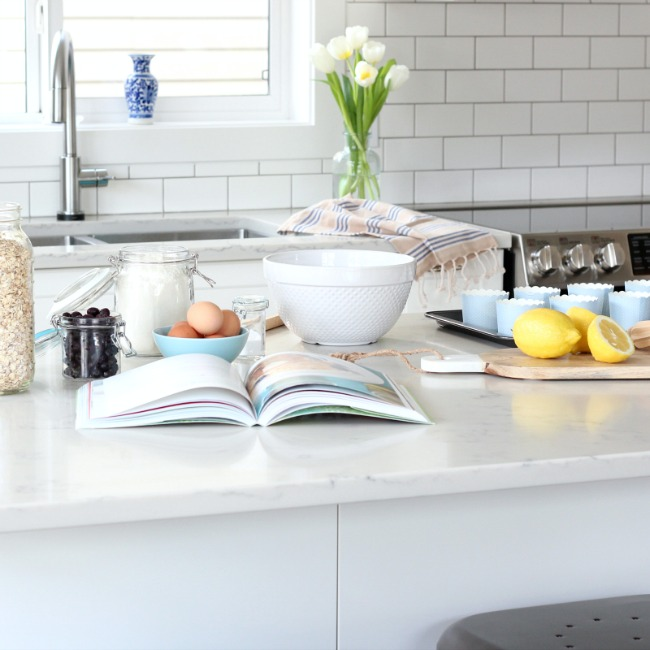 IKEA Bodbyn Off White Kitchen - Remodel by Satori Design for Living