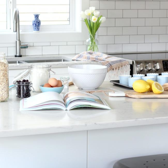 IKEA White Kitchen Remodel by Satori Design for Living