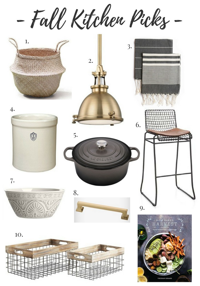 Fall Home Decor Picks to Warm Up Your Kitchen
