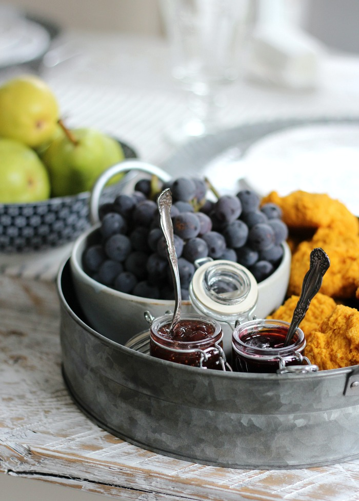 French Farmhouse Table Setting - Thanksgiving Brunch Ideas - Satori Design for Living
