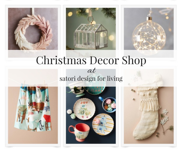 Christmas Decor Shop at Satori Design for Living