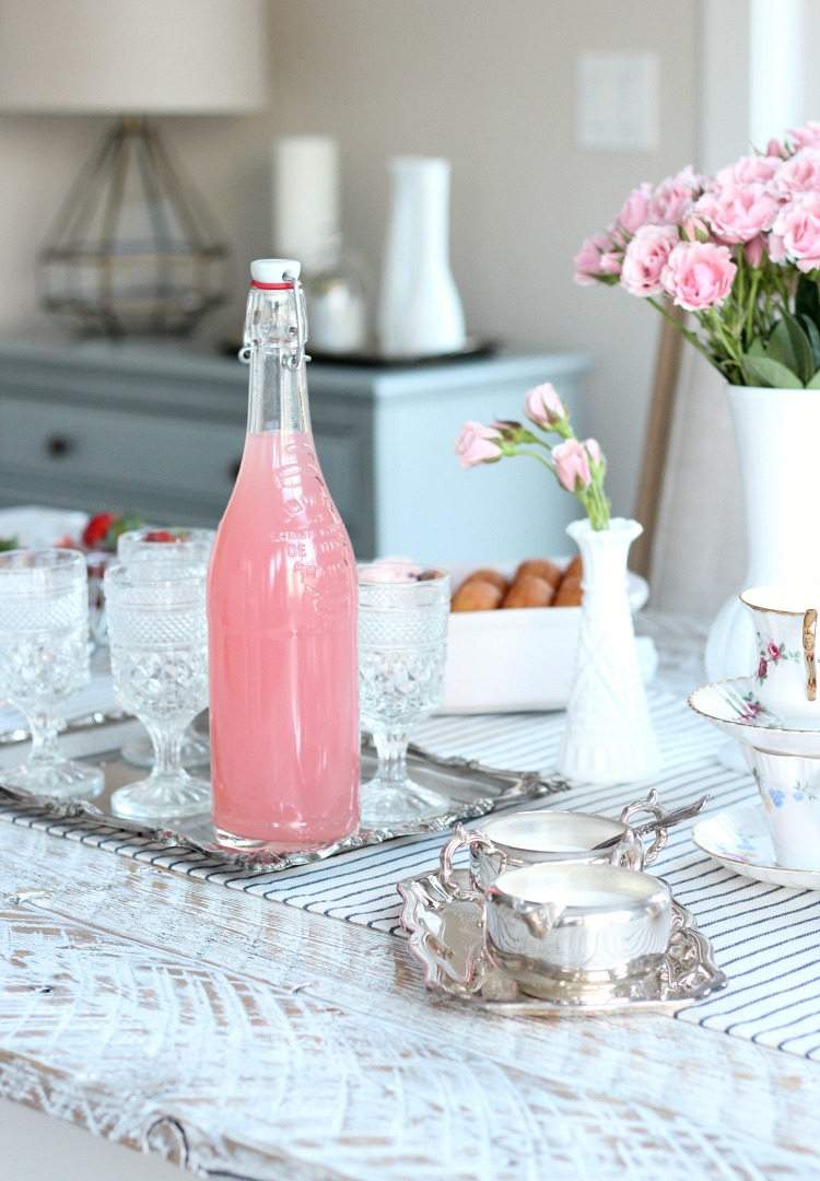 Pink Valentine's Day Tea Party Decor - Vintage Tea Party Ideas - Satori Design for Living