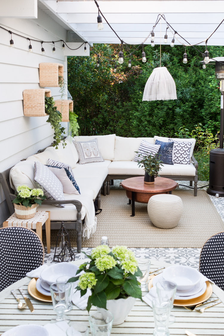 Outdoor Decorating and Entertaining Ideas - Zevy Joy