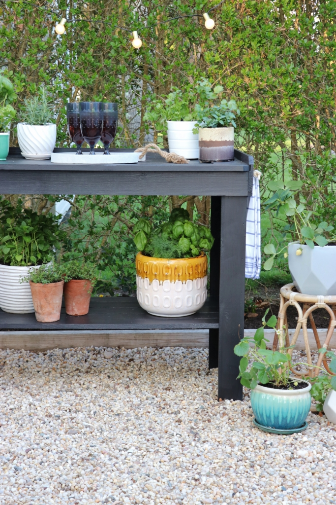 Outdoor Herb Bar: Give Your Summer Recipes A Little Something Extra - City Farmhouse