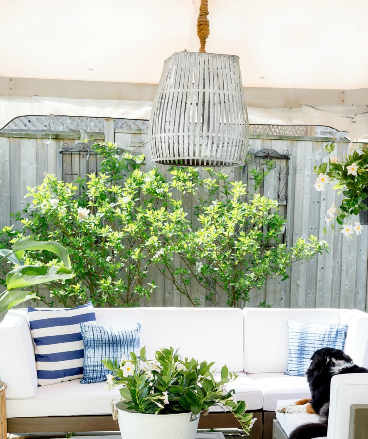 DIY Outdoor Bamboo Pendant - Craftberry Bush