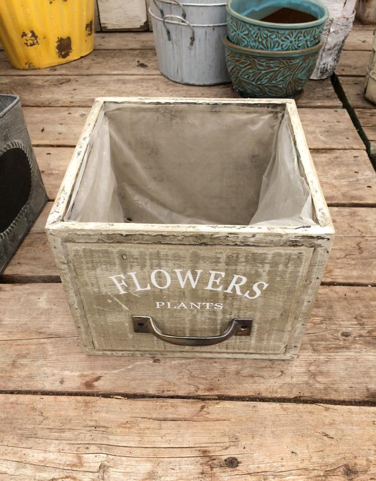 Drawer Planter - Outdoor Planter Ideas