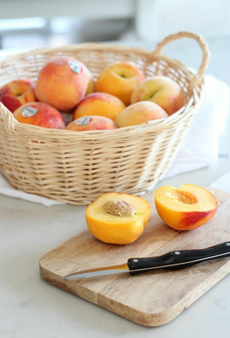 Grilled Peach Summer Salad - Fresh BC Tree Fruits Peaches Recipe Ideas