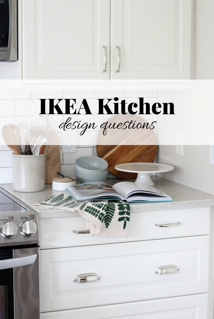 Building a new IKEA kitchen? I'm answering the top questions I get asked over and over again about our white IKEA kitchen design.