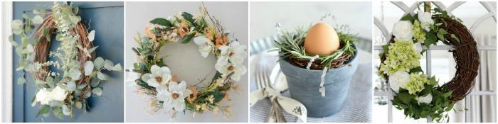 DIY Spring Wreaths