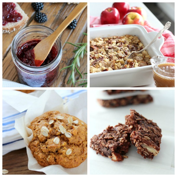 Healthy and delicious brunch and breakfast recipes, including smoothies, muffins, breads, jams and more!