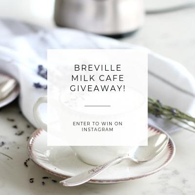 Enter to Win a Breville Milk Cafe - Satori Design for Living