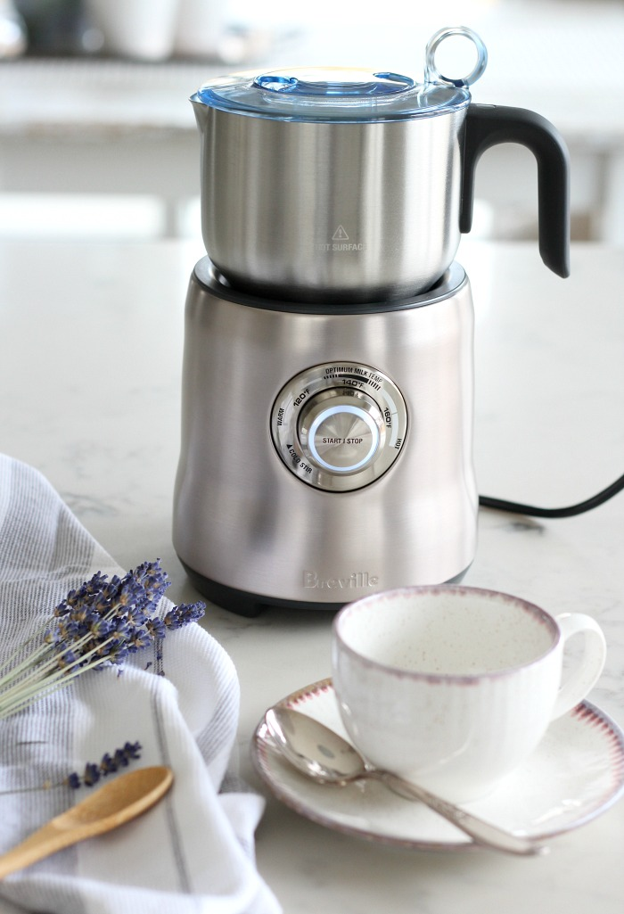 Breville Milk Cafe Recipe - Milk Frother for Making Lattes and Hot Milk Drinks - Satori Design for Living