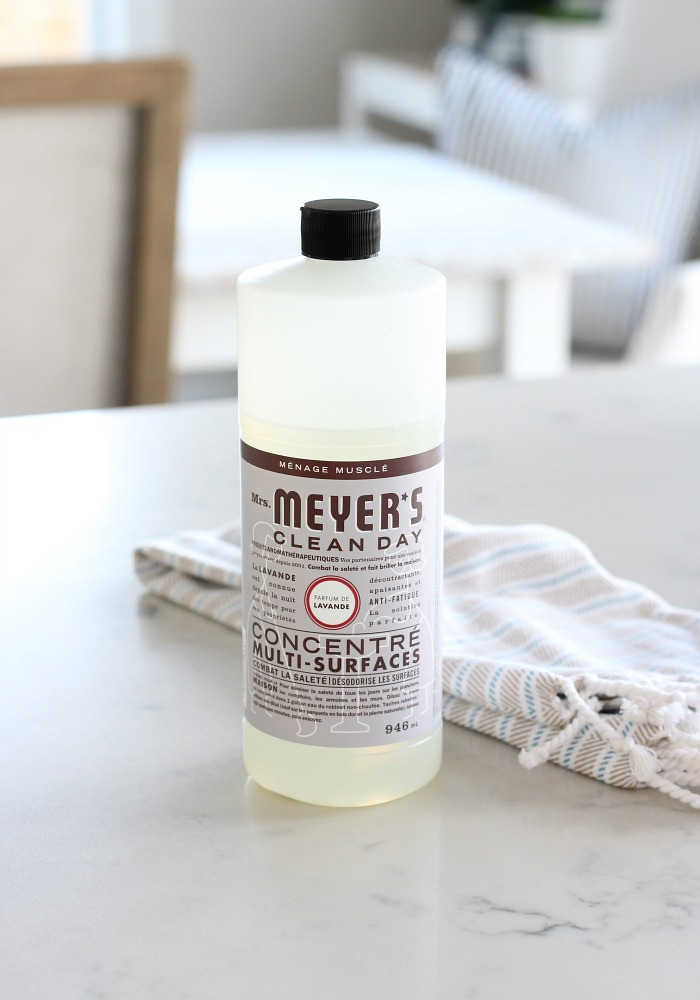 Freshen Your Kitchen for Spring with Mrs. Meyers Lavender Multi Surface Cleaner