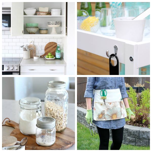 Get inspired by these beautiful and clever ideas and tips for organizing your home and life!