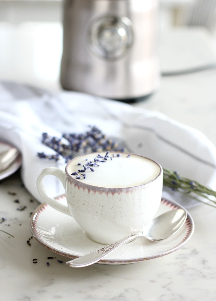 London Fog Tea Latte Recipe Using the Breville Milk Cafe