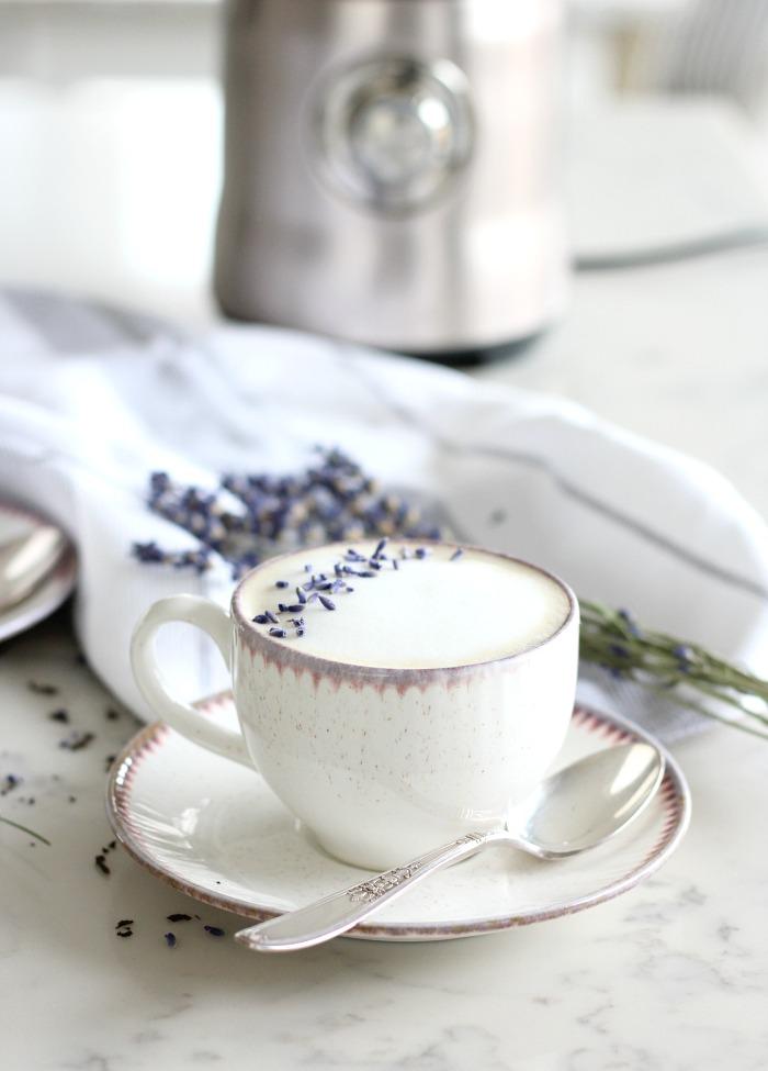 London Fog Tea Latte Recipe Using the Breville Milk Cafe