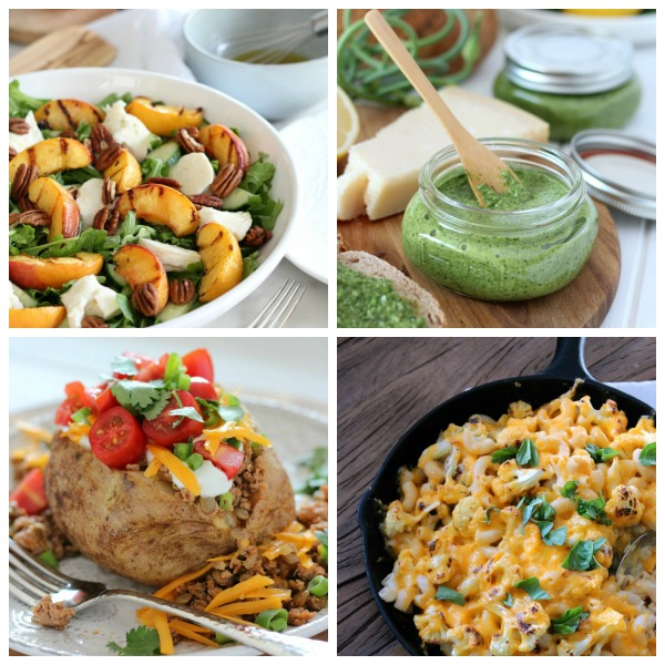 Healthy and delicious lunch and dinner recipes, including soups, skillet recipes, salads, curry dishes and more!