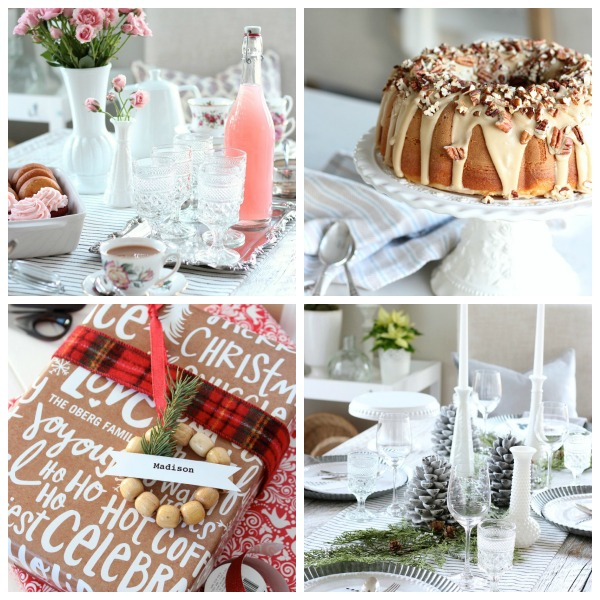 DIY projects, decorating ideas and recipes that embrace the WINTER season, including Christmas, New Year's Eve, Valentine's Day and more!