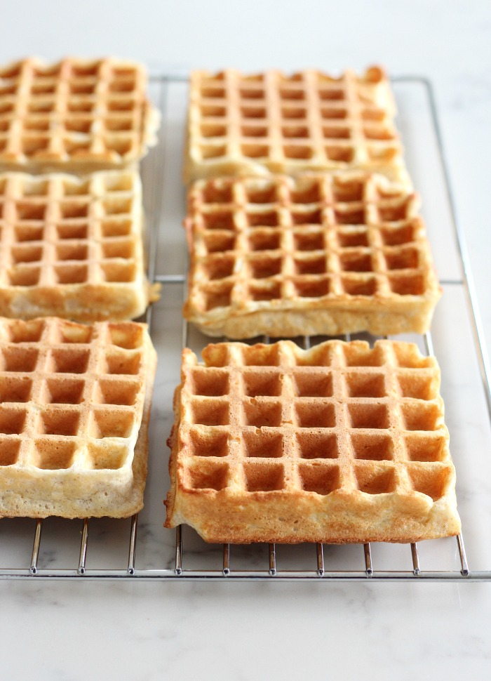 Favourite Classic Waffle Recipe - Make-Ahead Freezer Waffles - Satori Design for Living