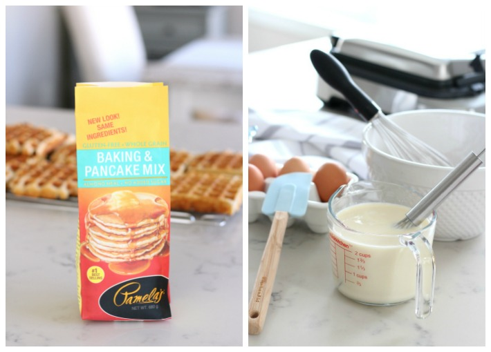 How to Make Gluten Free Waffles Using Pamela's Baking Mix - Pamela's Waffle Recipe