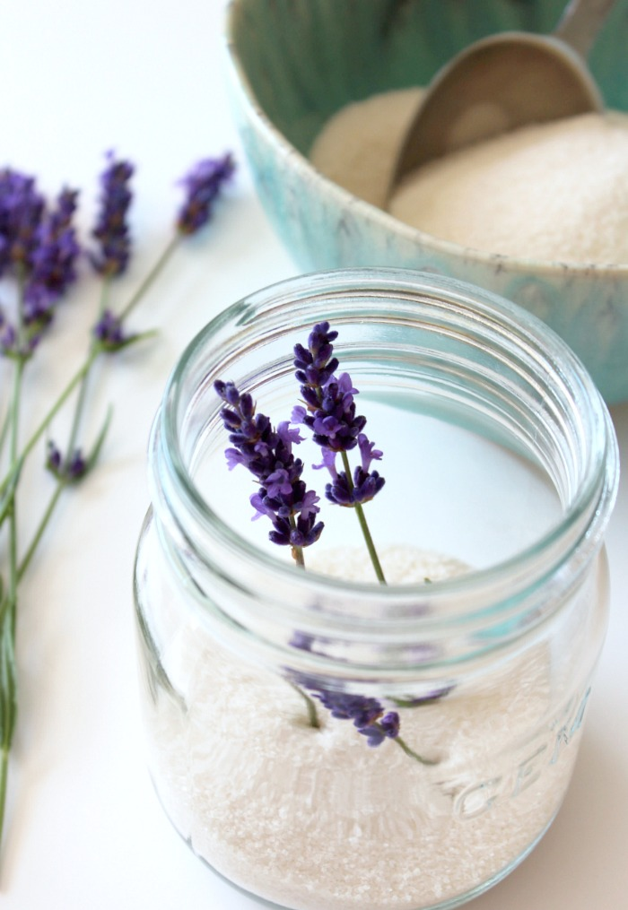 GEM Jar with Cane Sugar and Fresh Lavender