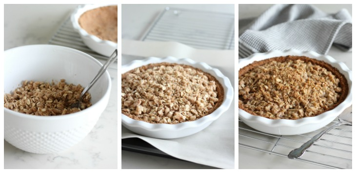 How to Make Ginger Apple Crumble Pie