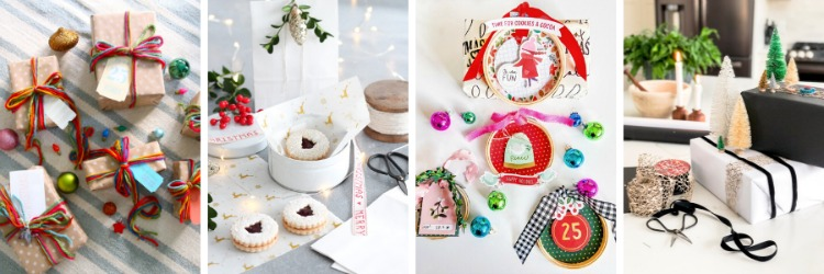 Christmas Gift Wrapping Ideas Using Ribbon and More